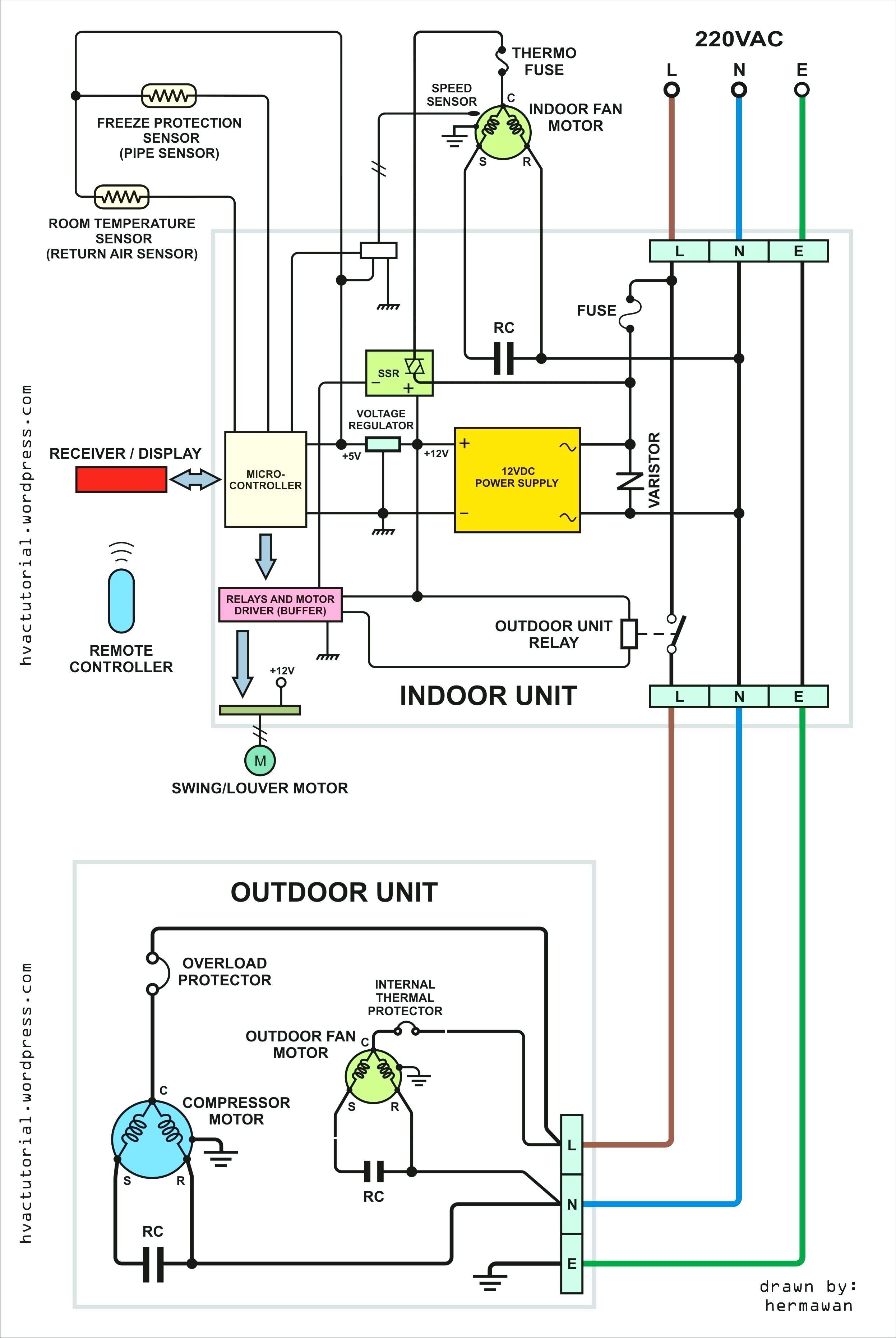 Capacitor Contactor Wiring Diagram
